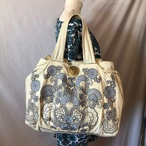 XCLT Gucci Python Hysteria embroidered tote bag